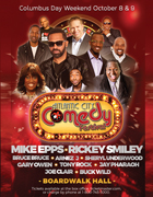ATLANTIC CITY COMEDY FEST @ Boardwalk Hall, Atlantic City ~ COMING October 8th and 9th